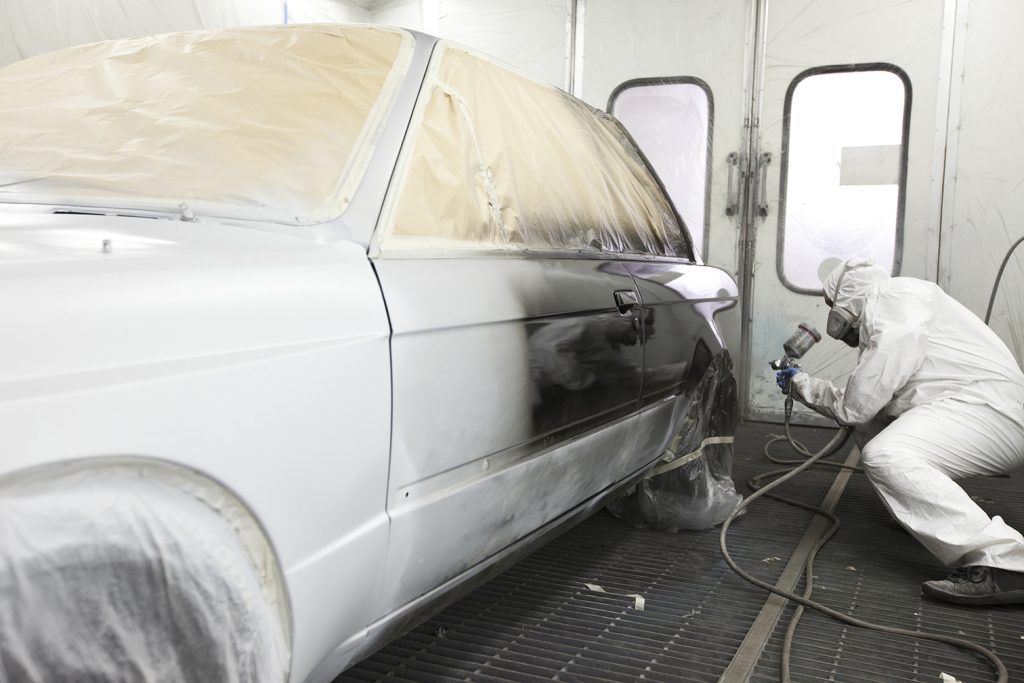 Auto paint job services in sussex merton auto body for Full body paint job