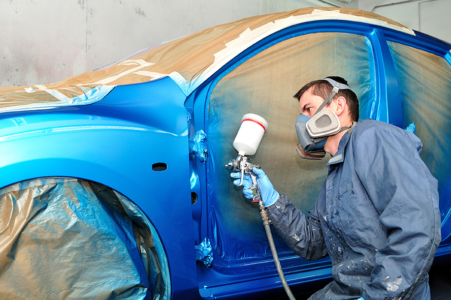 Auto paint job services in sussex merton auto body for Painted auto body parts reviews