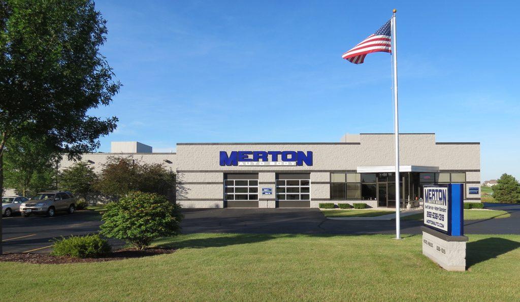 Merton Auto Body Building
