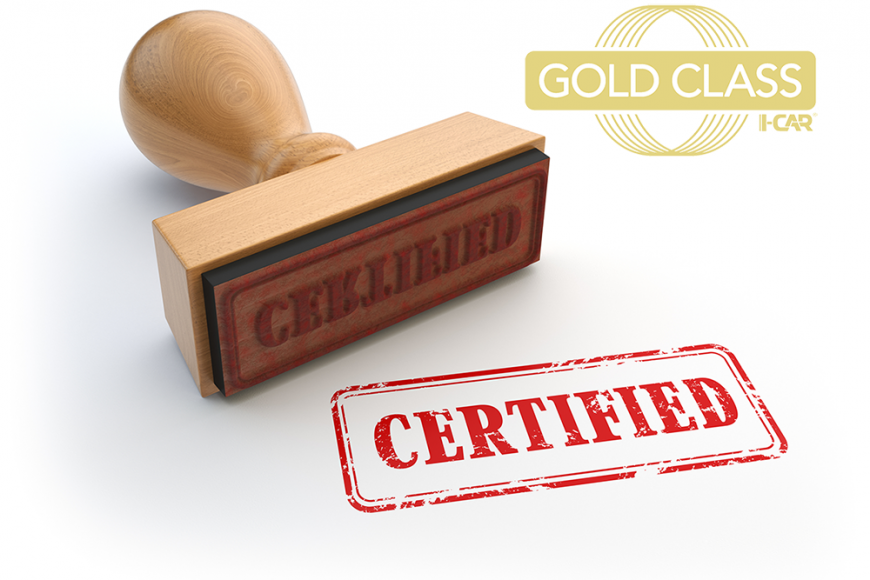 What is I-CAR Gold Class Certification?