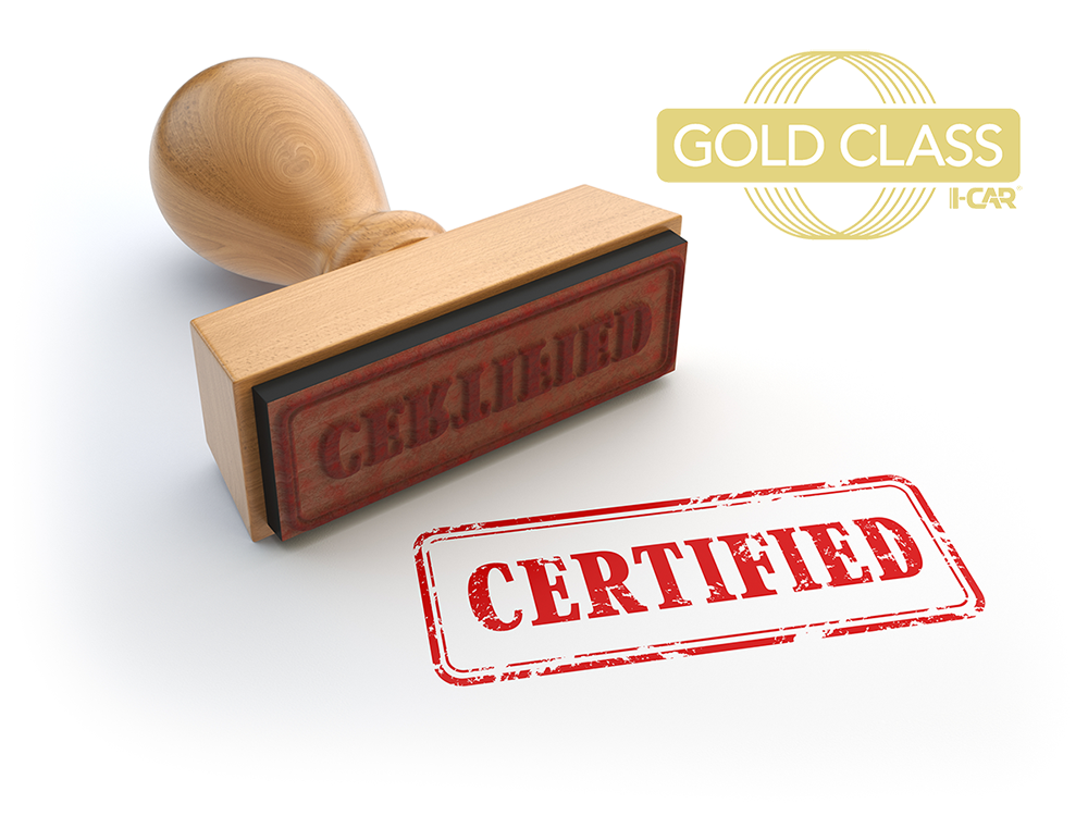 What Is I Car Gold Class Certification Merton Auto Body