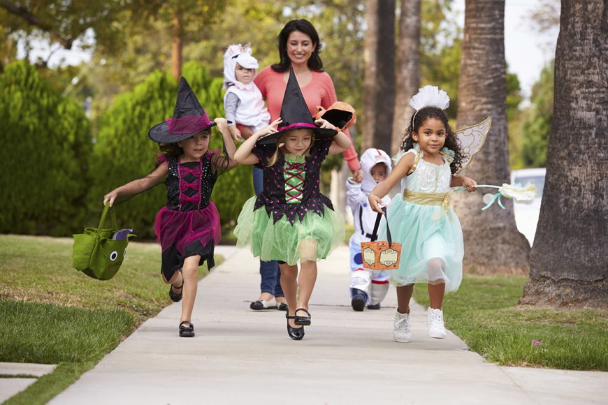 Watch Out for Trick-or-Treaters!