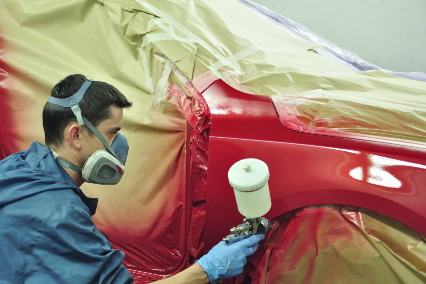 What Goes into Painting a Car?