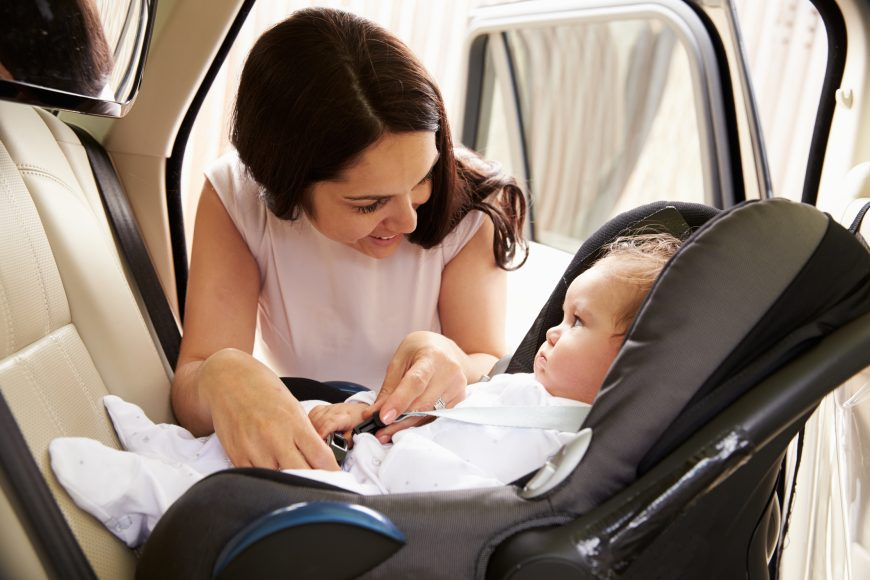 Using a Child Safety Seat Correctly