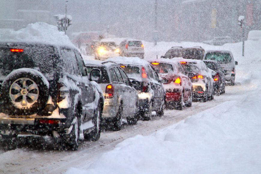 8 Winter Weather Driving Tips