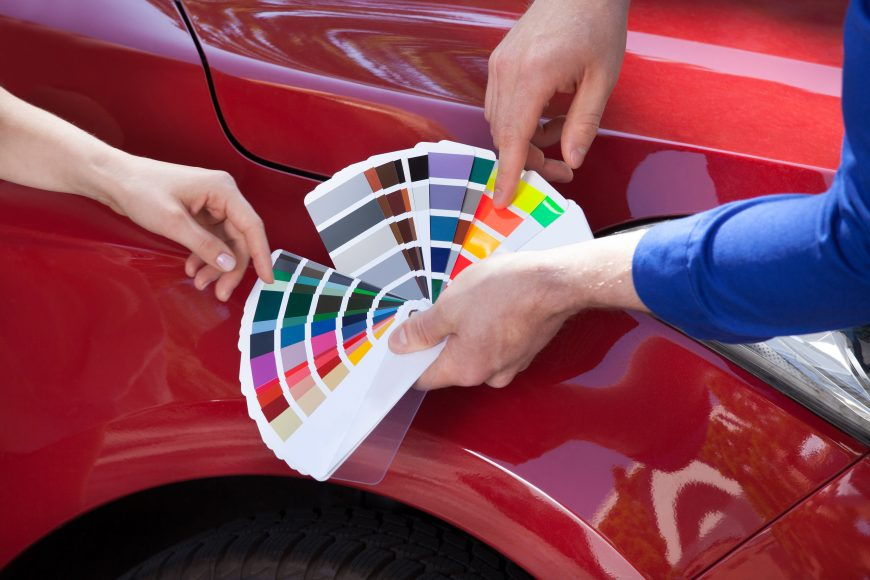 Developing Colors to Match Your Car