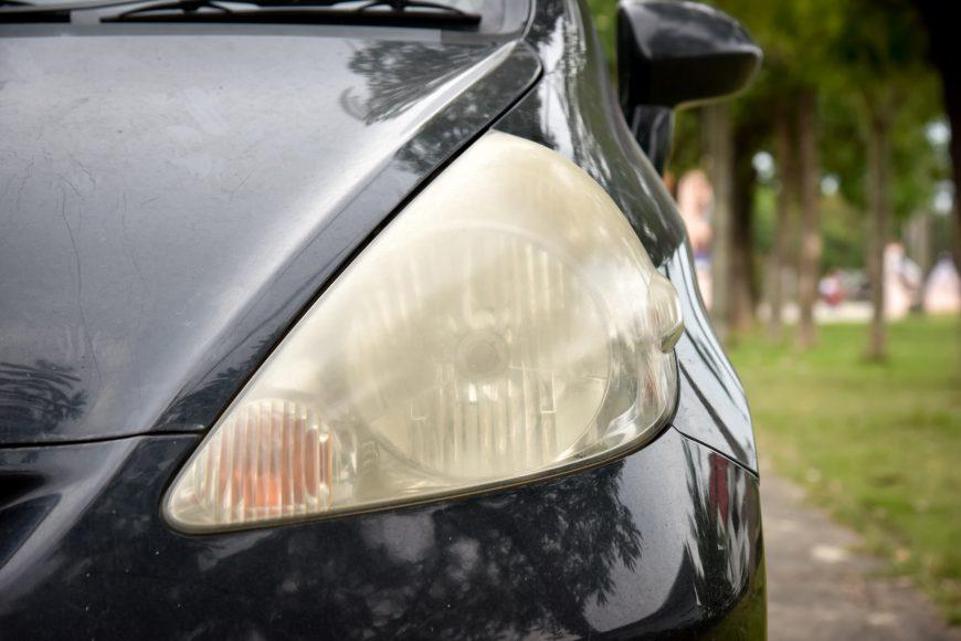 Protecting and Repairing Plastic Headlights