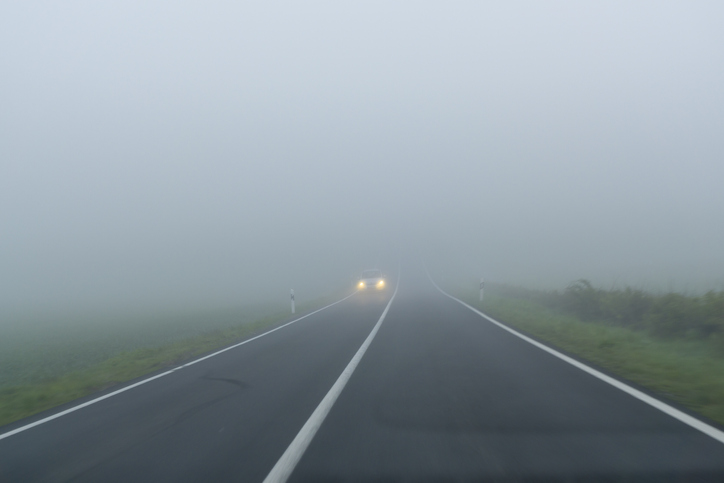 Staying Safe when Driving in Fog